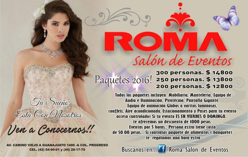 ROMA Salon de Eventos